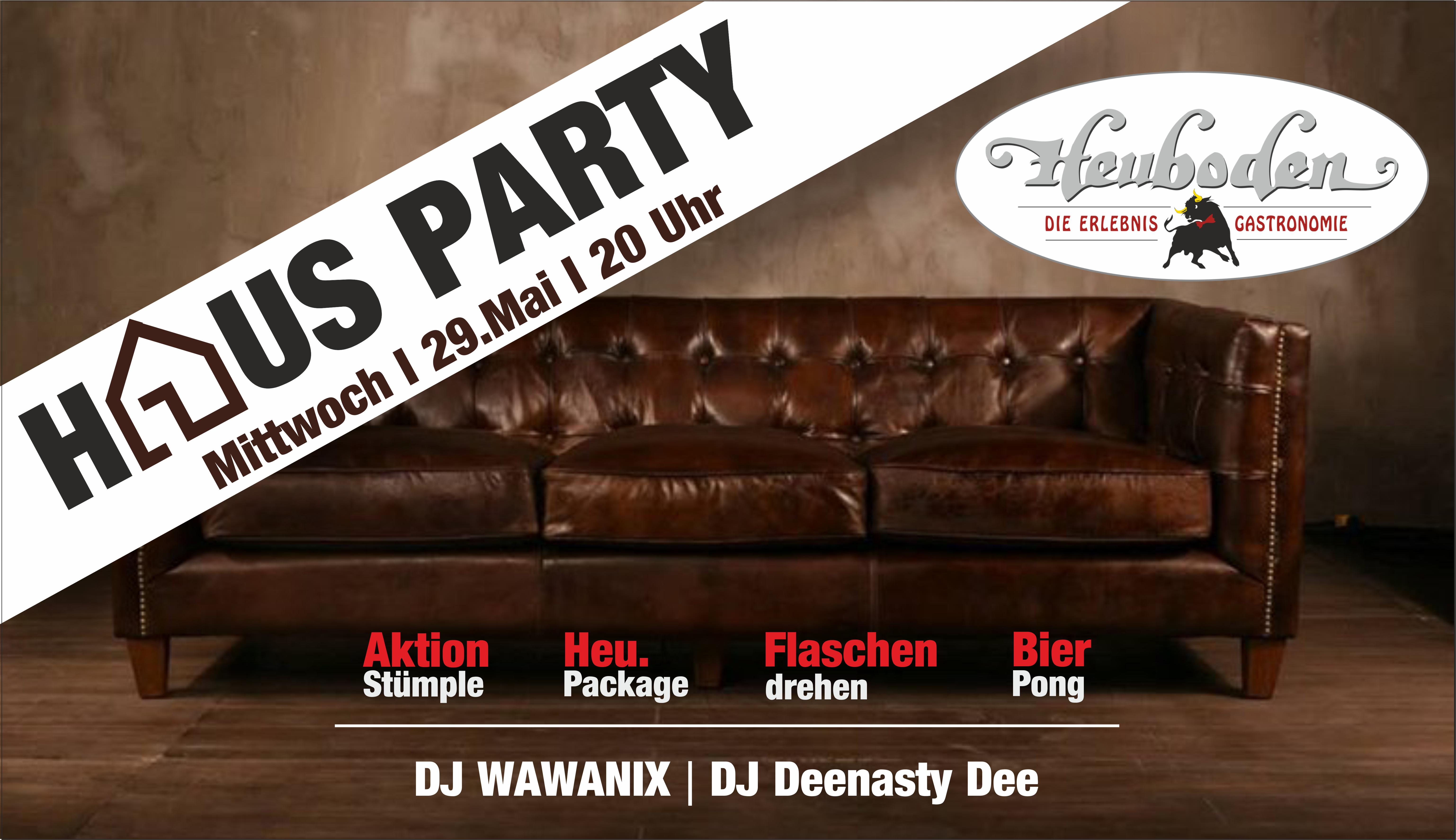 Hausparty banner web