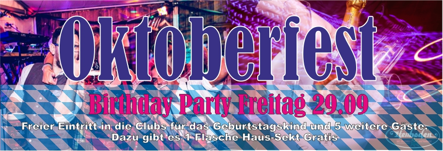 oktoberfest birthdayparty